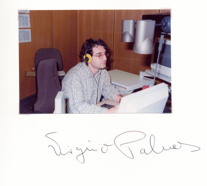 Nr.  63 Virginio Palmas, Hörfunkmoderator