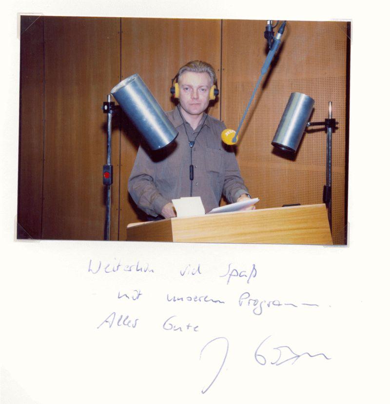 Nr. 80  Joachim Goebel, Hörfunkredakteur