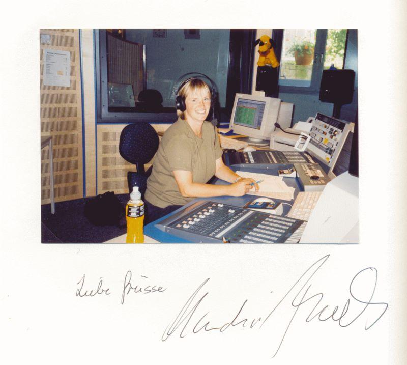 Nr. 102  Claudia Firnihs, Hörfunkmoderatorin