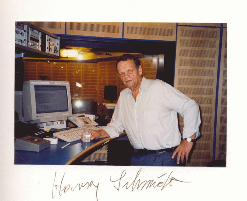 Nr. 101  Harry Schmidt,Hörfunk Nachrichtensprecher