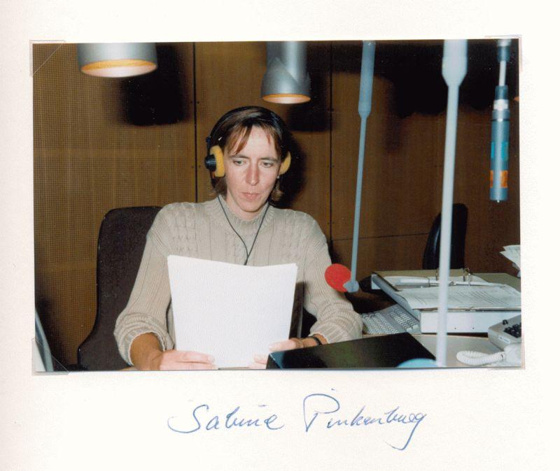 Nr. 61 Sabine Pinkenburg, Hörfunkredakteurin