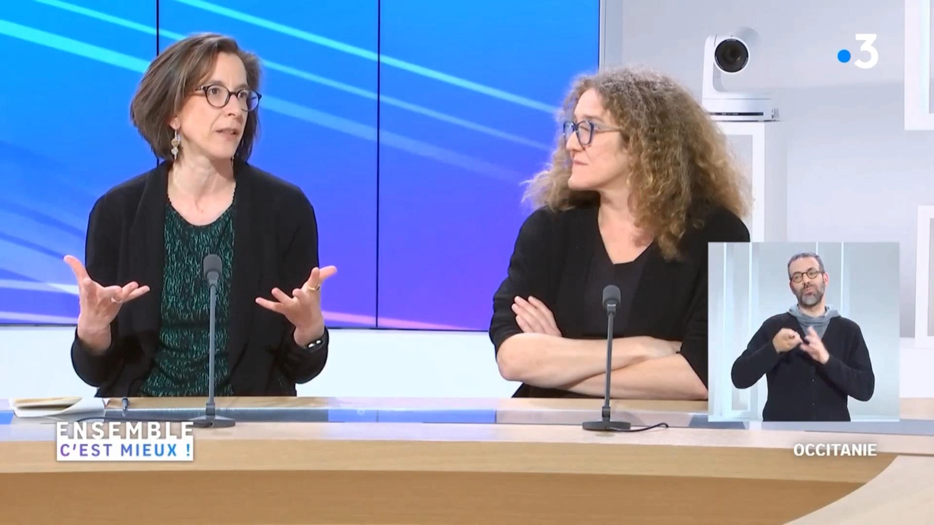 """""""Ensemble c'est mieux"""" avec Des'L / France 3 Occitanie  - 30 mars 2021"""