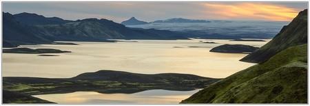 Sunrise at Langisjór (Vatnajökull, blautulón, sveinstindur, skaftá, laki, eldgjá, skælingar, uxatind, trekking, fögrufjöll, hamarinn, bárðarbunga, wandern)