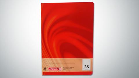 Schulheft Lineatur 28, DIN A4  0,65 €