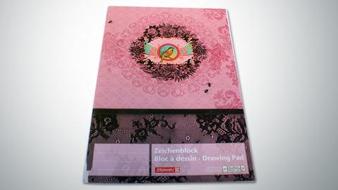 Zeichenblock A3, 20 Blatt  2,30€