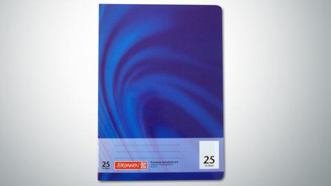 Schulheft Lineatur 25, DIN A4  0,65 €