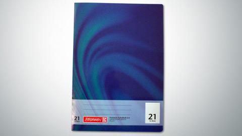 Schulheft Lineatur 21, DIN A4 0,65 €