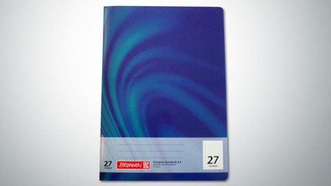 Schulheft Lineatur 27, DIN A4  0,65 €