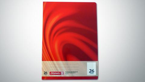 Schulheft Lineatur 26, DIN A4  0,65 €