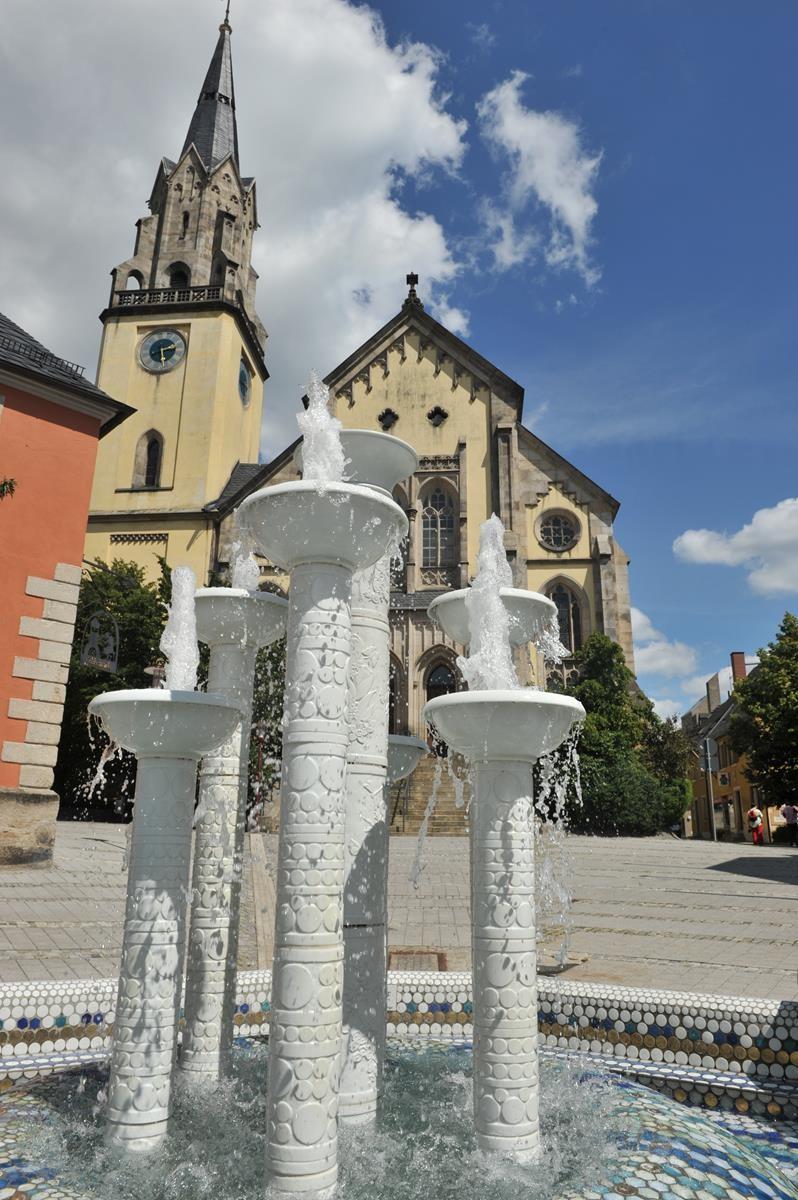 Porzelanbrunnen Selb