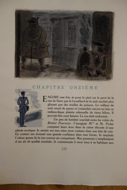 Pierre Mac Orlan, l'Ancre de miséricorde, 1945, illustrations de Pierre Falké, livre rare