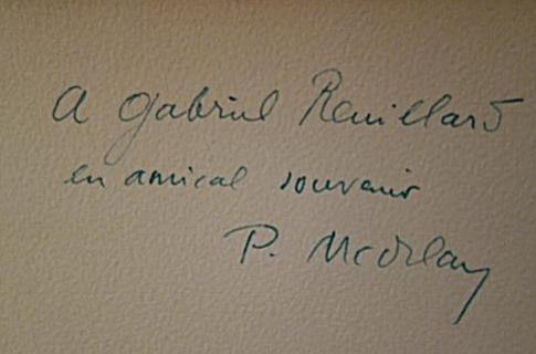 Pierre Mac Orlan, Les vrais mémoires de Fanny Hill, Trémois, 1929, livre rare, édition originale