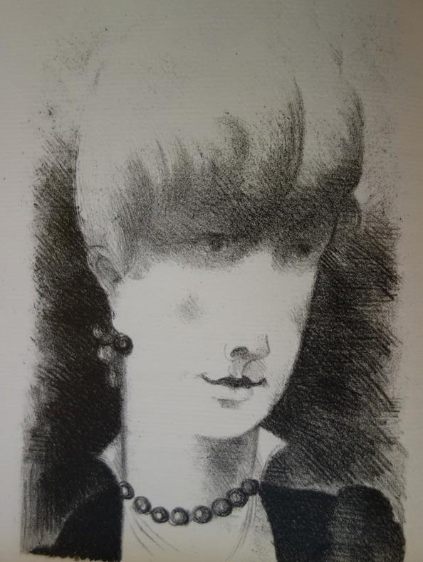 Pierre Benoit, Mademoiselle de la Ferté, H. Desoer, 1926, 30 lithographies d'Yves Alix, livre rare