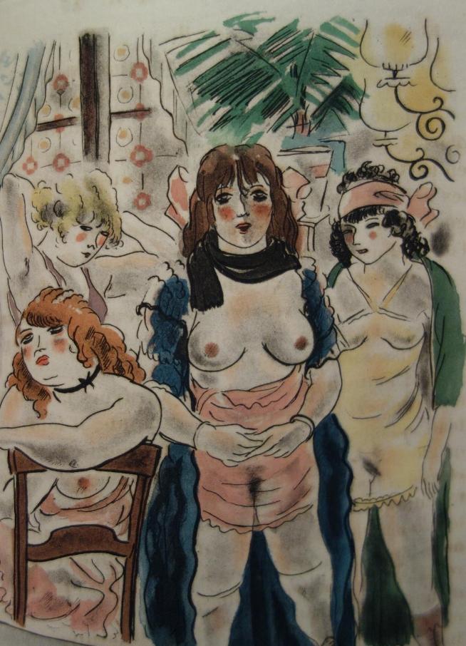 Georges COURTELINE,  Le train de 8 h 47, illustrations de Dignimont, 1927, livre rare