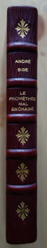 André GIDE, Le Prométhée mal enchaîné, Mercure de France, 1899, livre rare, édition originale