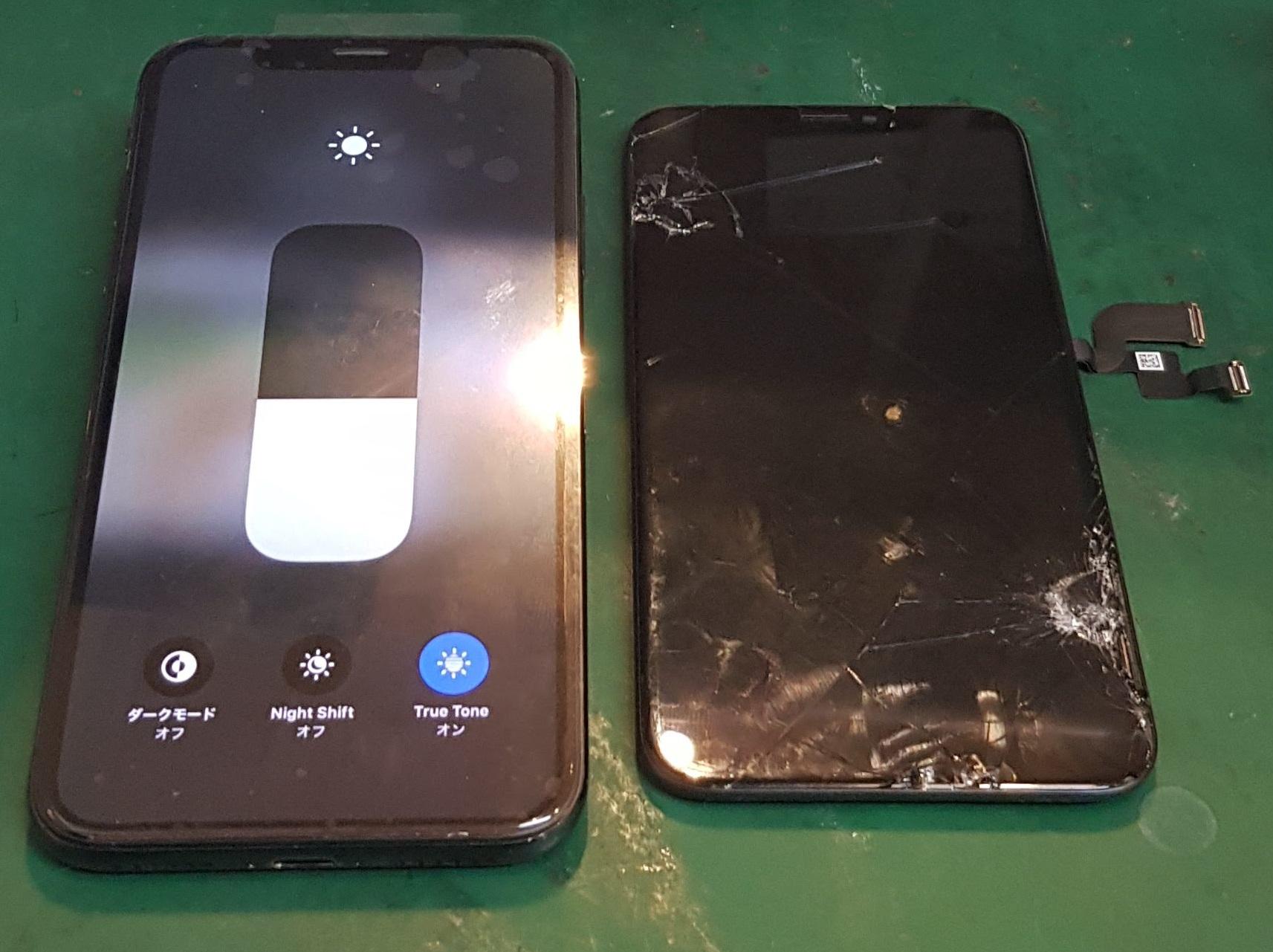 iPhone修理品質は店舗ごとに違います4