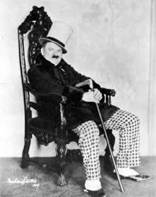 Ludvig Hauswald - ein Mann, der nicht nur wegen seiner Werbetaktik in Erinnerung bleibt.