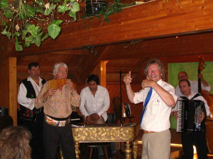 Willi`s  Geburtstag ( 60 ) mit Rumänische Band und Nicolaé Pirvu