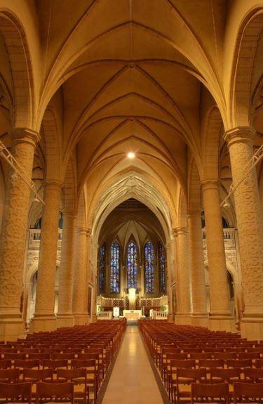 Auftritt 2004: Kathedrale Notre-Dame in Luxemburg