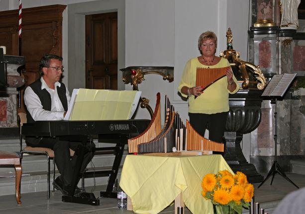 Konzert Kath. Kirche in Dietwil 2015