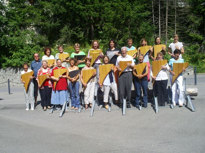 Panflötenfestival  Arosa