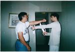 Bart Cham Do Training mit meinem Sipak Allan Fong