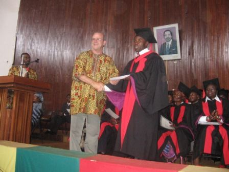 Graduation in Bafoussam
