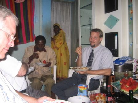 lunch after Church in Bafoussam