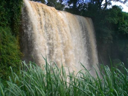 waterfall near bafoussam