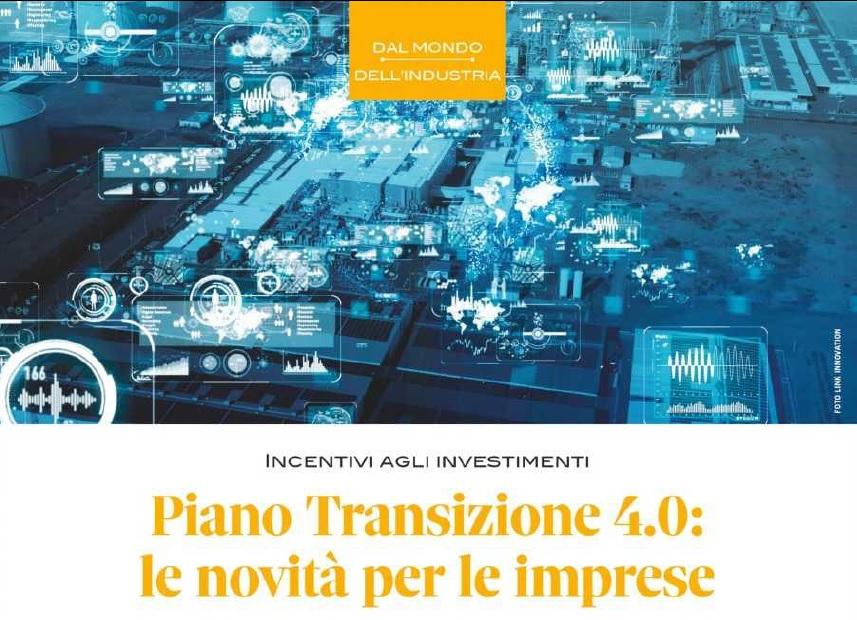 Il Piano Transizione 4.0 spiegato a tutti: su ICP n. 2 un articolo a firma di Alberto Taddei e Luca Moliterni