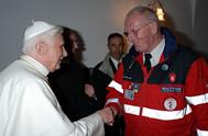 S.H. Papst Benedikt XVI & Dr. Joachim Huber