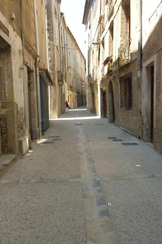 Rénovation des rues du centre ancien du Vigan, Gard