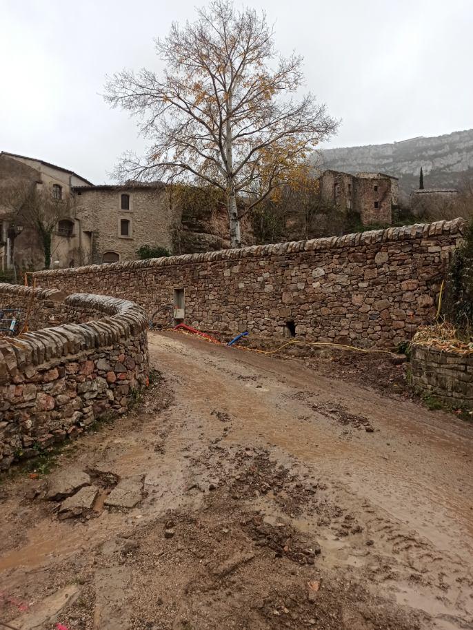 Communauté de communes Lodévois Larzac, Valorisation des espaces publics à Navacelles (30)