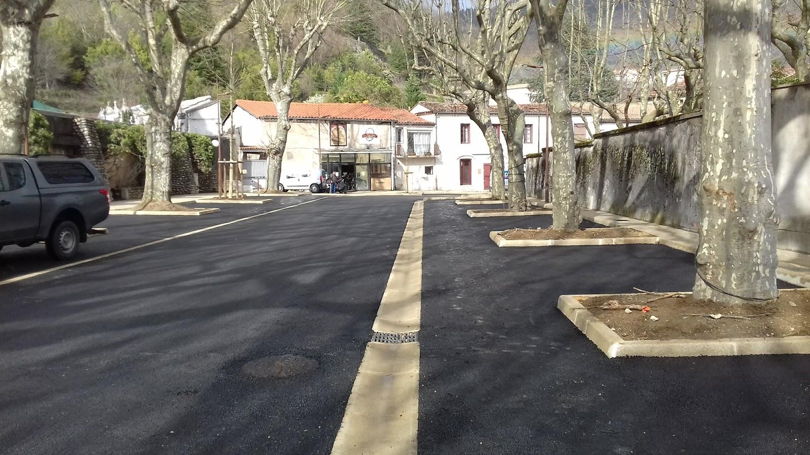 Commune du Vigan, Réhabilitation du Boulevard des Châtaigniers, Gard