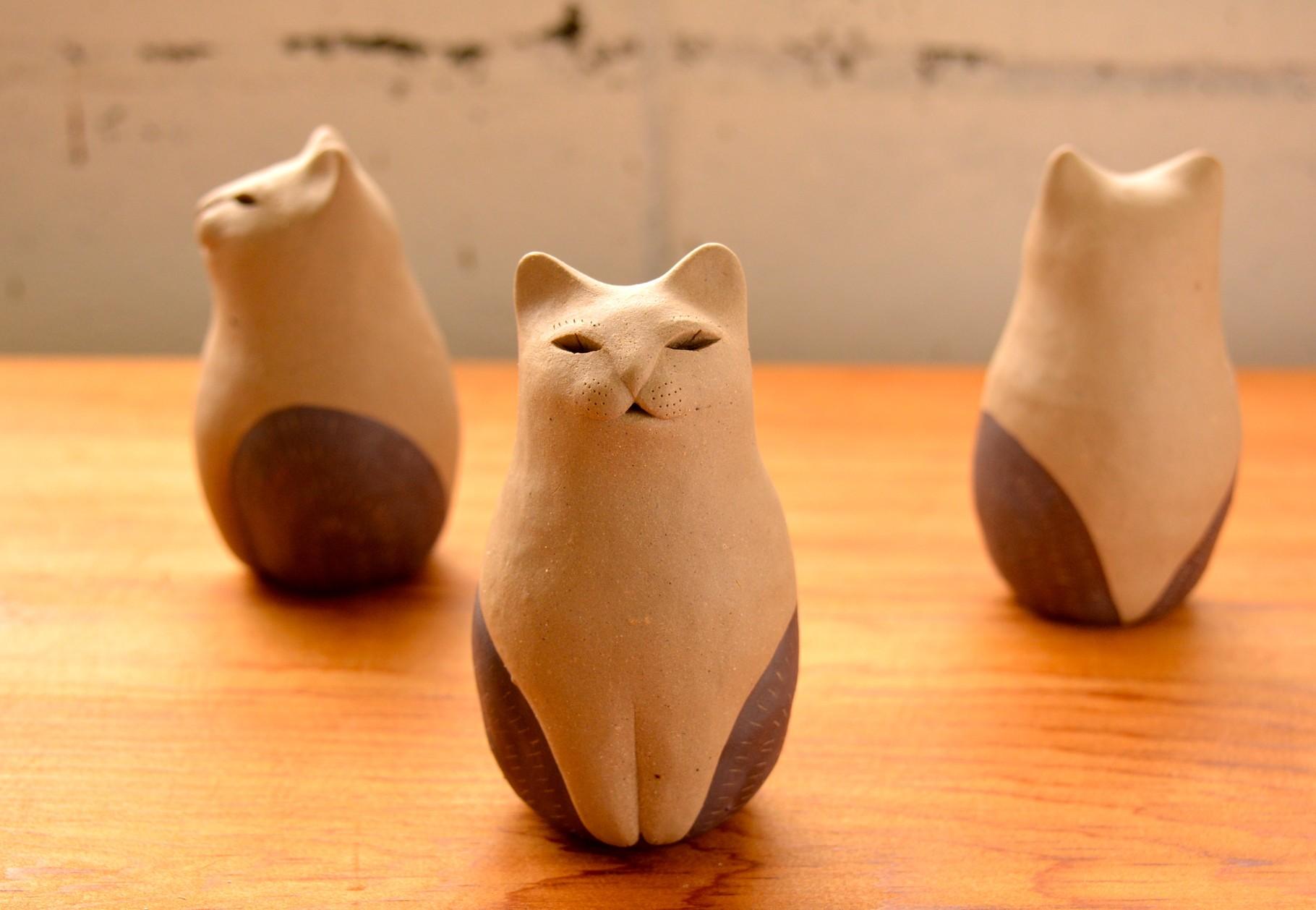 猫型土鈴 古代
