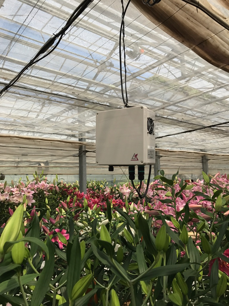 強制通風BOX(温度、湿度、CO2)