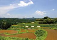 熊本県山都町の里山地帯