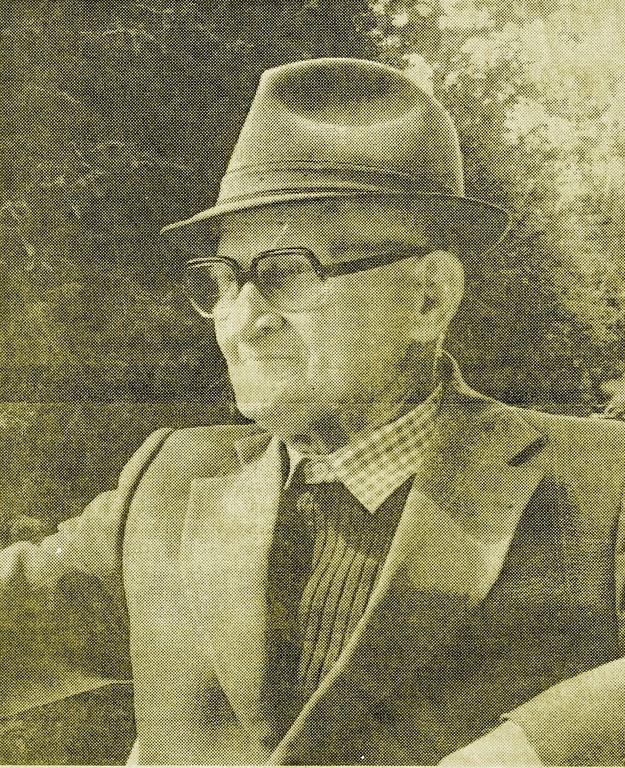 Wilhelm Schmacke vor seinem 80.