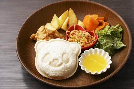 豆屋珈琲店_お子さまサンドイッチ