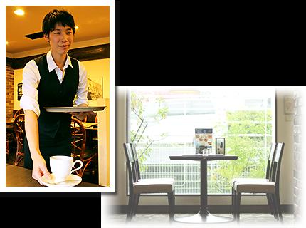 豆屋珈琲店_おもてなし接客イメージ2