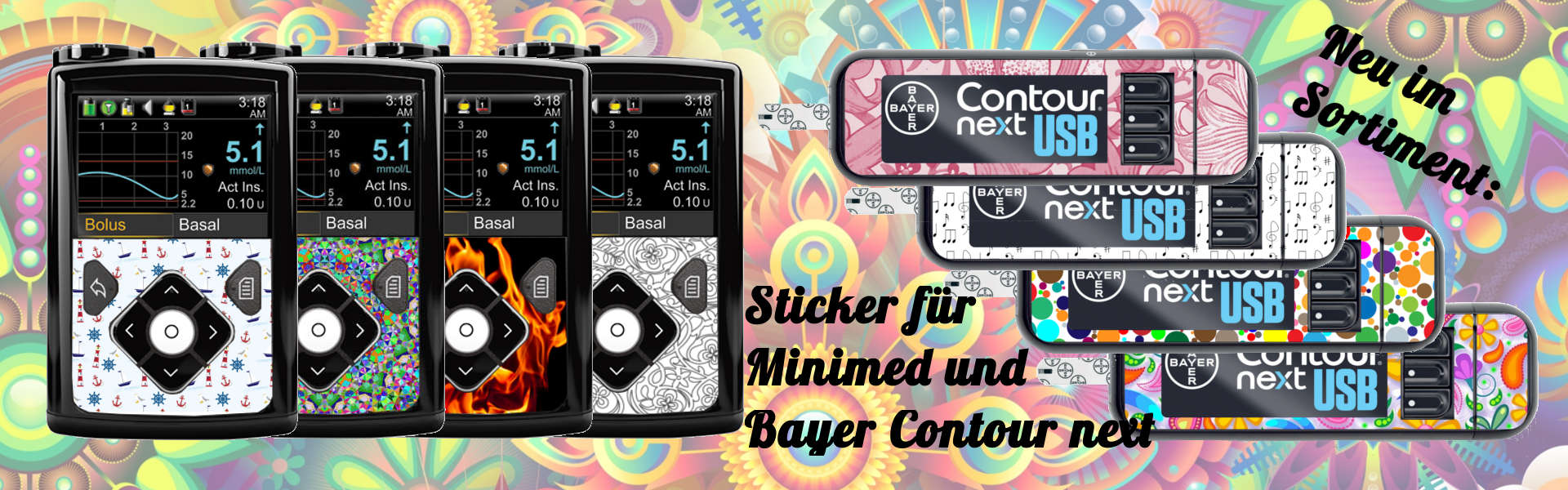 Minimed Sticker Bayer Contour Sticker