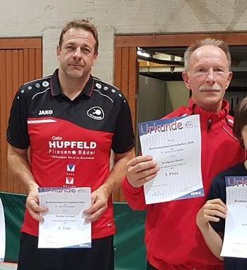 Klasse gespielt: Markus Krengel (links) und Wolfgang Haase.
