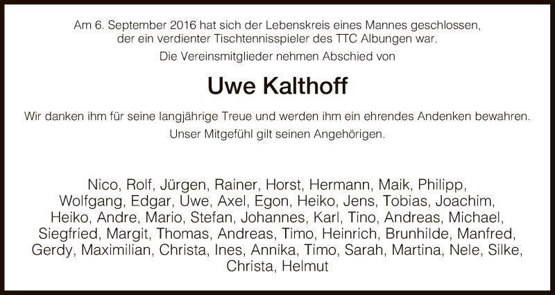 Werra-Rundschau vom 24. September 2016