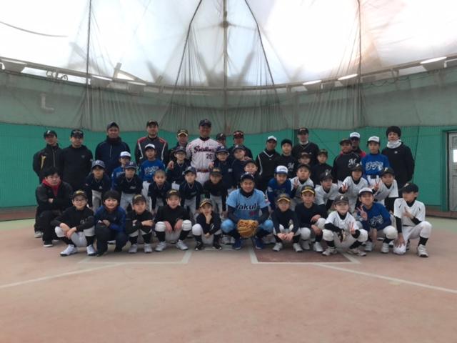第5回 網走中央病院野球教室(写真6)集合写真1