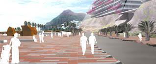 Peatonal diseño de Perrault, Las Teresitas, Tenerife