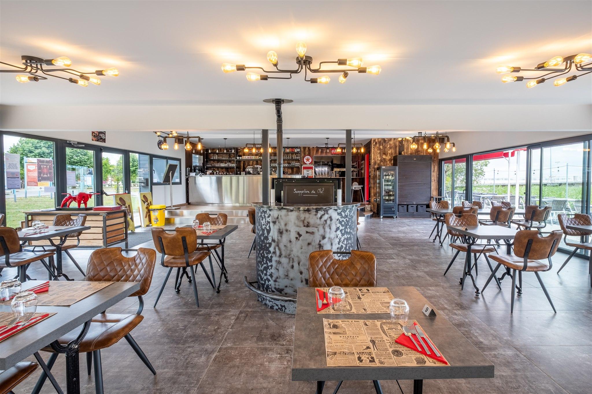 Aménagement d'un restaurant par MP intérieurs - Lamarque
