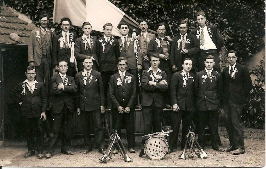 Concrits de La Charité, classe 1932-33