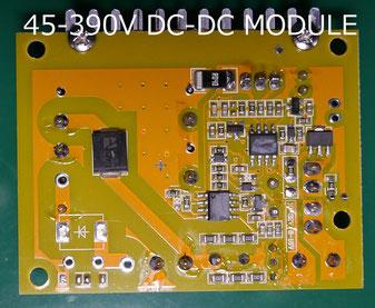 45-390V High Voltage Boost Converter Module