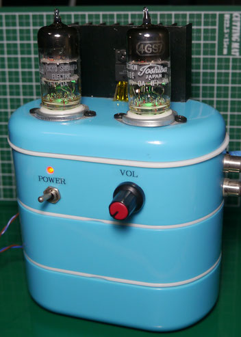 4GS7 low voltage tube amp 低電圧真空管アンプ自作