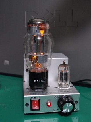 6AS7G low voltage tube amp 低電圧真空管アンプ自作